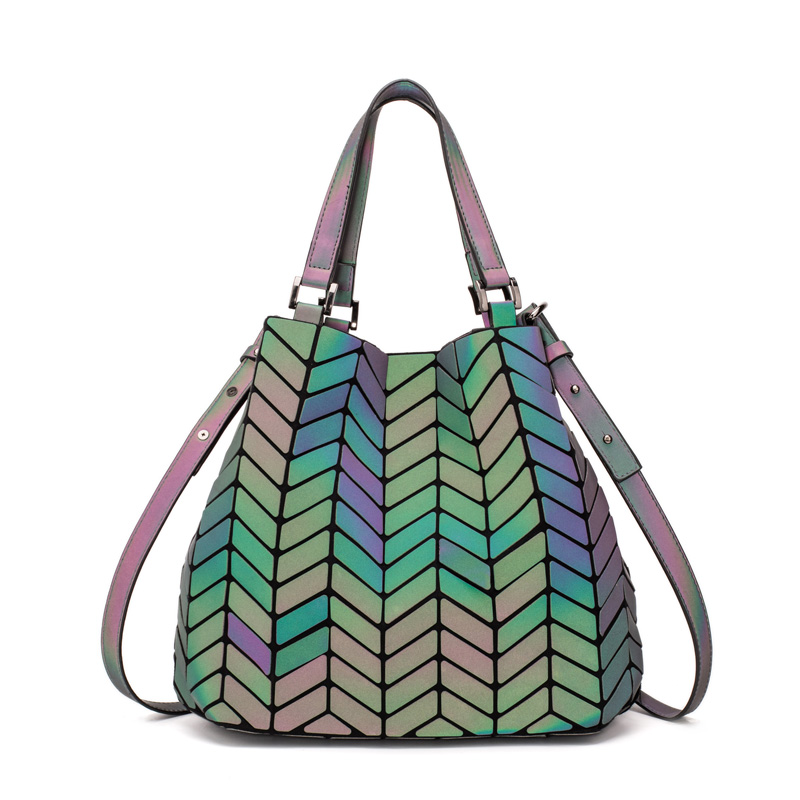 Famous-Brands-Women-Bao-Bag-Geometry-Sequins-Mirror-Saser-Plain-Folding-Bags-Bucket-Luminous-Handbags-Casual (2)