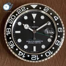 Metall Kunst Cyclops Wanduhr Uhr Uhren Wohnkultur Luxus Design Wand Uhr an Der Wand Glas Beste Geschenk