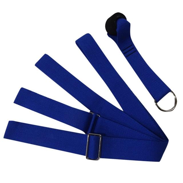 Door flexibility stretching leg stretcher strap for ballet cheer dance gymnastics trainer yoga flexibility leg stretch belt#g3