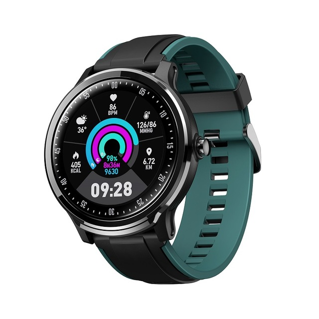 SN80 Smartwatch With Heart Rate Monitor Blood Pressure Clock Smart Waterproof Watch Support For Men Women Blue