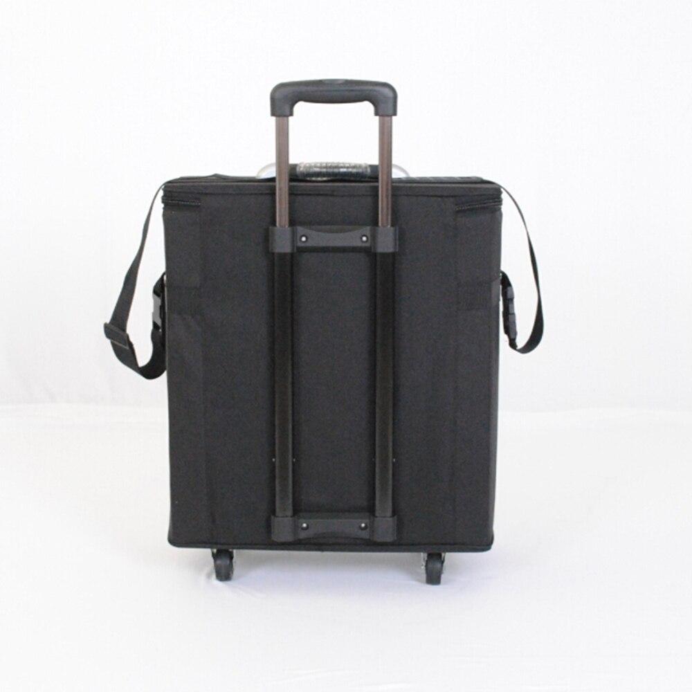 Gafas caja de almacenamiento maleta gafas muestra bolsa con capacidad de 180 piezas oftálmica marcos o 96 piezas gafas - 4