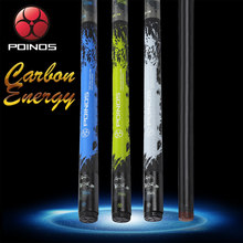 POINOS Carbon Fiber Technology Pool Cue Stick Billiard Cue 3 Colors 13mm Hell Fire Tip High-Quality PU Wrap Bullet Joint 2019(China)