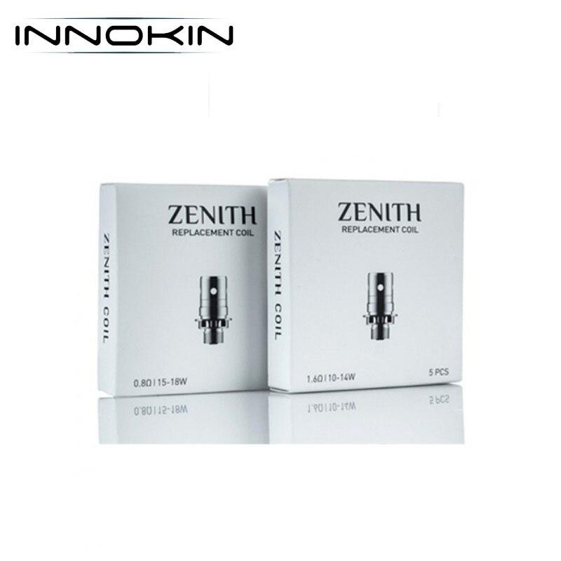 Original Innokin Zenith Replacment Coil Plexus 0.5ohm Atomizer Core Z Plex 3D 0.48ohm Vaporizer For Innokin Zenith Zlide Tank