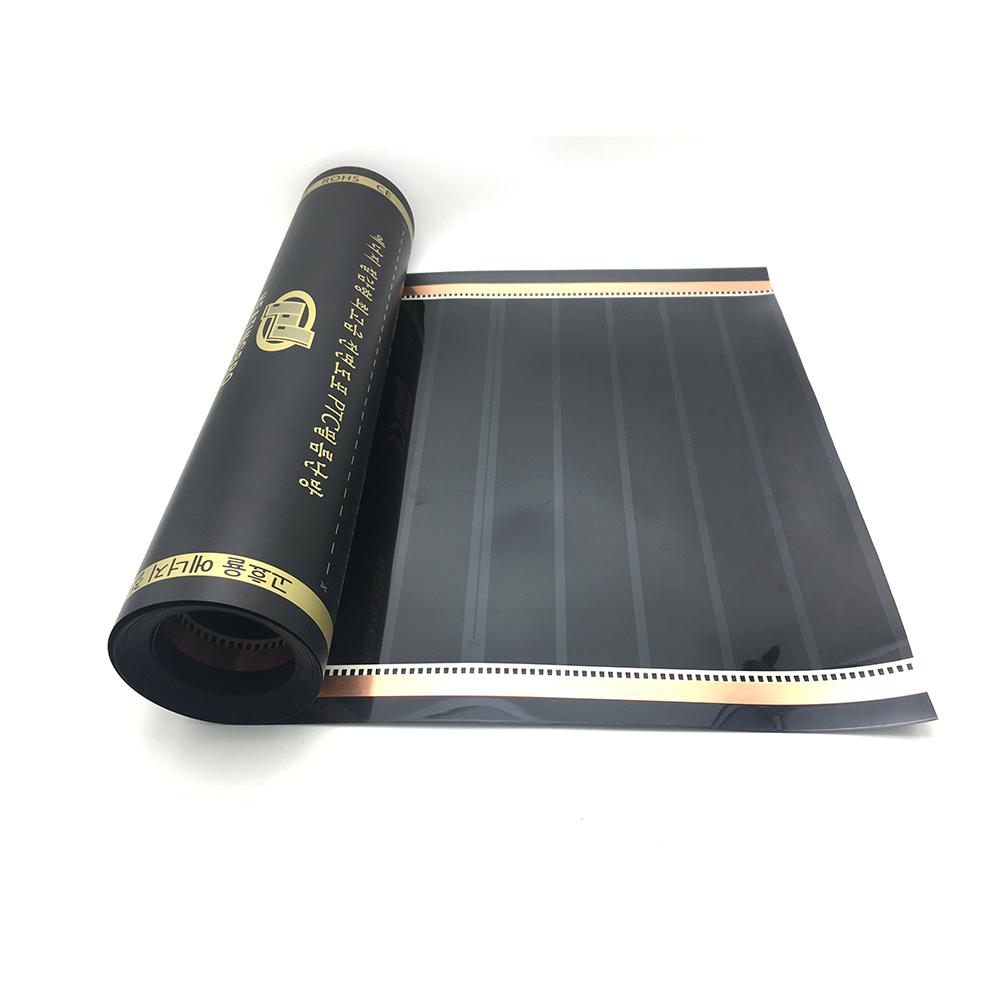 5~20m2 50cm 80cm Width Infrared Graphene PTC Underfloor Heating Film AC220V 240w/m2 Warm Floor Mat