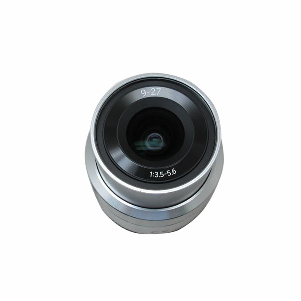 9-27mm f/3.5-5.6 ED OIS NX Mini NXF1 9mm Silver Lens for Samsung NX Mini Zoom Lens Camera Accessories