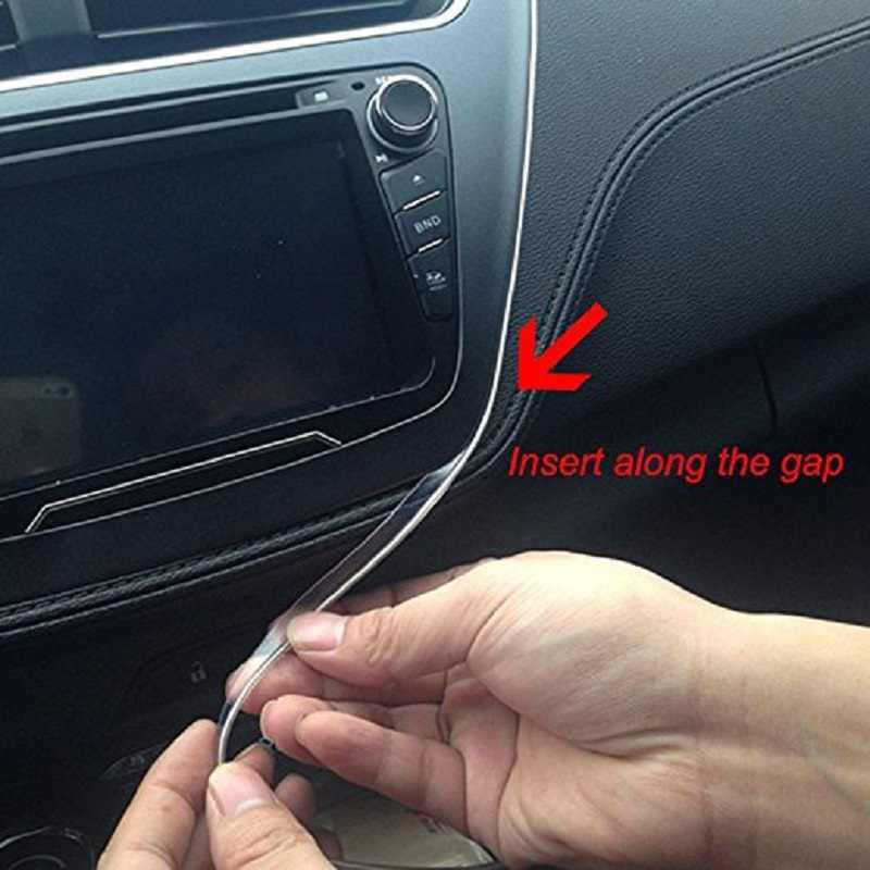Автомобильный RGB Неон EL свет Светодиодные полосы света 6 м канатная трубка звук Bluetooth телефон приложение управление для Andriod IOS атмосферное украшение лампы