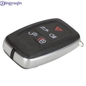 Image 4 - Jingyuqin 5 botão chave habitação para land rover range rover sport lr4 vogue 2010 2013 remoto chaveiro capa