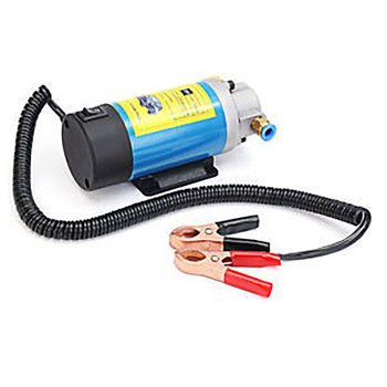 New 12v Diesel Pump Oil Pump Electric Fuel Pump Siphon Pump 100w 1-4l/min Oil Transfer Pump 12v Oil Extraction Pump Car Special oversea es 12v car oil pump oil extraction pump petrol fuel oil change pump new st car accessories