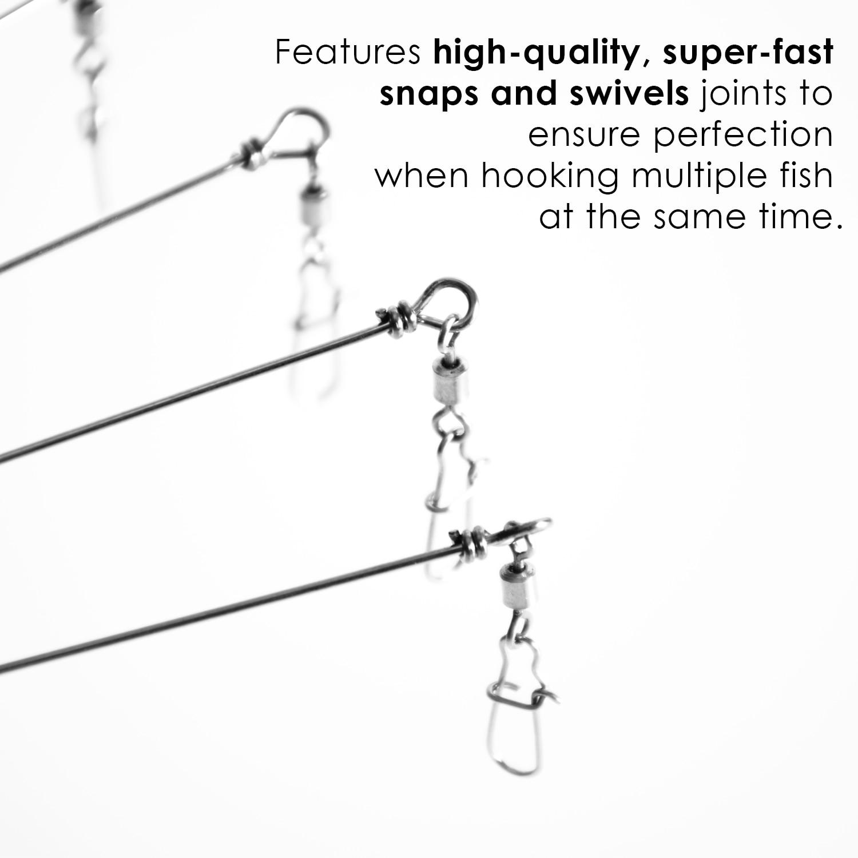 SF 5 Arms 8 Bladed Bass Fishing Alabama Umbrella Rig Bass Bait  Lure 1 OZ
