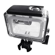 40 м подводный Универсальный прозрачный водонепроницаемый Дайвинг Корпус аксессуар легкий камера защитный чехол для GoPro 5/6