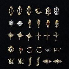 2020 10 шт Золотые 3d драгоценные камни подвески кристаллы яркие