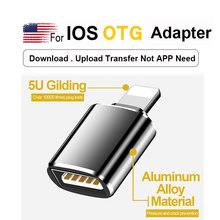 New OTG Adaptador Mobile Phone Accessories For ios 13 Version Above Converter Not APP For Lighting To USB Adapter Dropshipping
