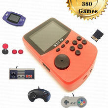 цена на Retro Mini Handheld Game Console Game Player 380 Games with TF Card Slot for GBA for Snes for Nes for Sega Megadrive Games