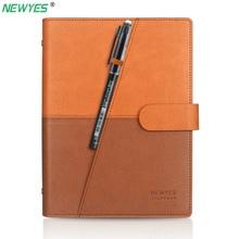 Newyes dropshipping apagável caderno de papel couro reutilizável inteligente notebook armazenamento em nuvem flash