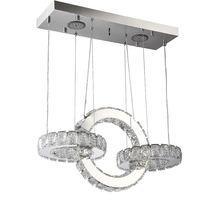 K9 Хрустальная светодиодная Подвесная лампа круглая Современная
