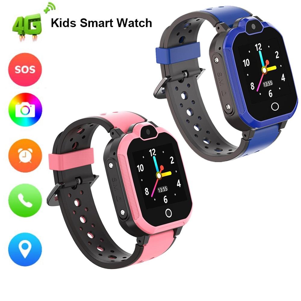 Smarcent LT05 enfants bébé enfant 4G montre intelligente caméra GPS LBS WIFI HD appel vidéo Bluetooth SOS caméra surveillance à distance Smartwatch
