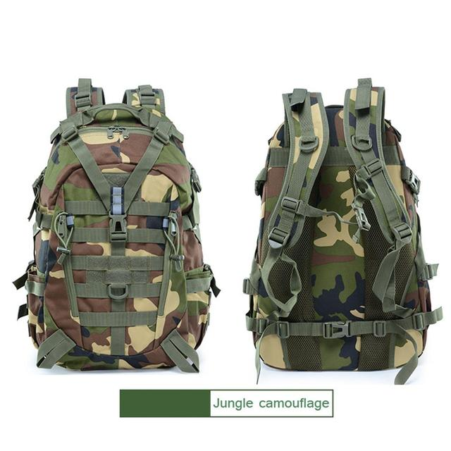 Picnic Hunting Mountaineering Backpack Cycling Bag Field Survival BL075 25L Oxford 900D Encryption Waist Tactical Backpack 3