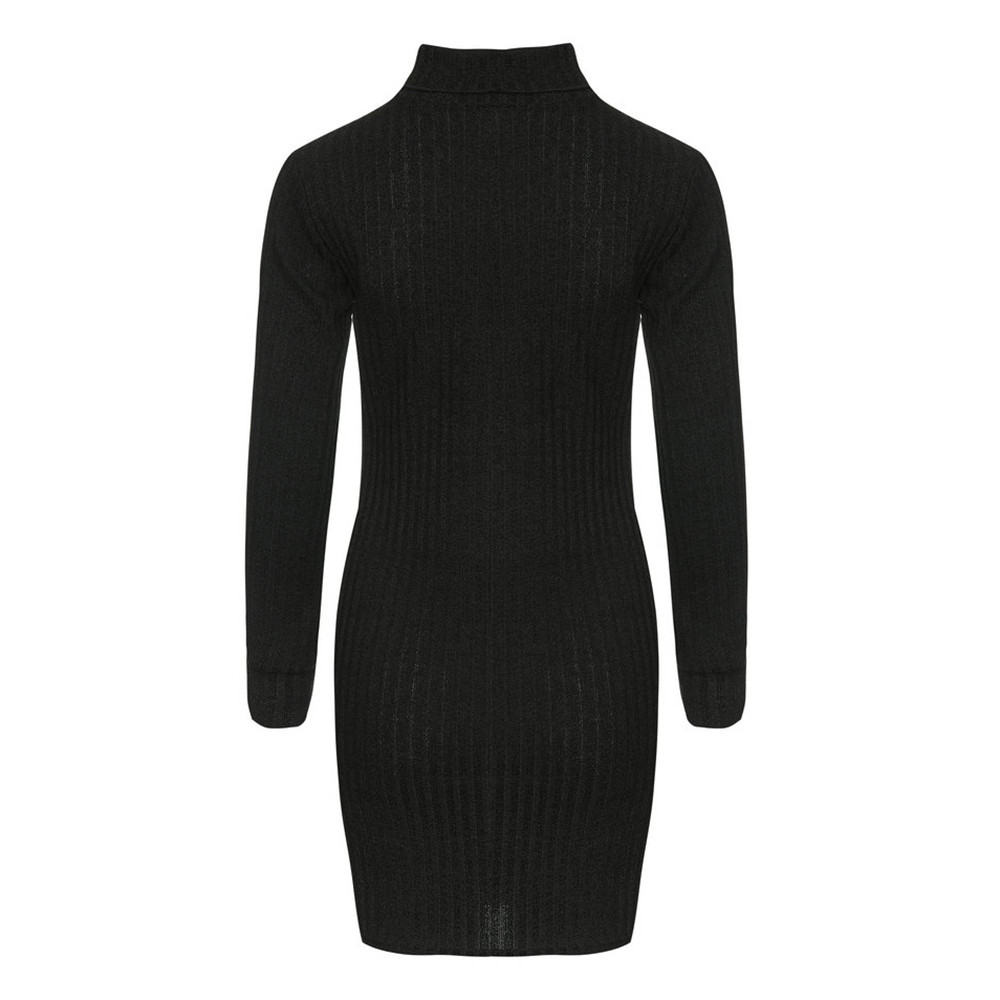 Fashion Women winter autumn Casual stripe Jumper Turtleneck Sweaters Dress pullover new Sexy winter clothes ladies sweaters