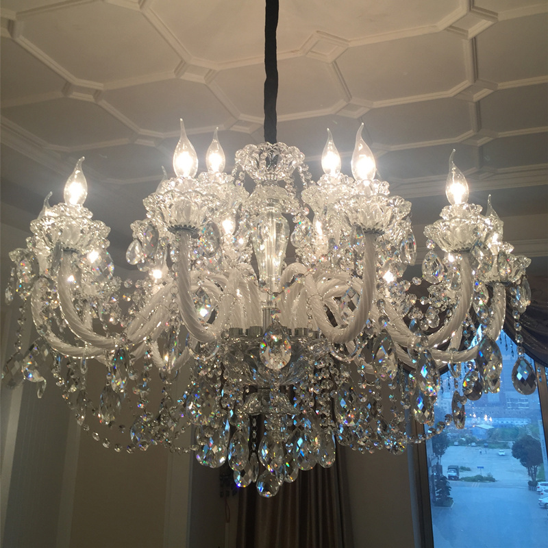 Modern Lighting Chandeliers Home Decorators Collection Light Candelabros Crystal Pendant Chandelier Dining Room Lamps Bed Room - 6