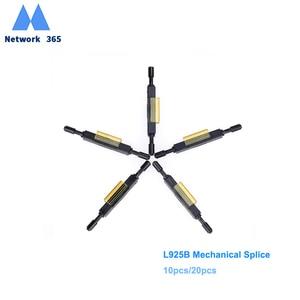 Image 1 - Free shipping10pcs  20pcs 50pcs  L925B Fiber Optic Quick Connector Optical Fiber Mechanical Splice for Drop Cable
