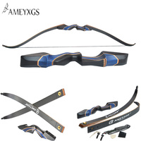 20 55lbs Archery Recurve Long Bow With 56 inch Bow Length For Outdoor Hunting Shooting Accessories