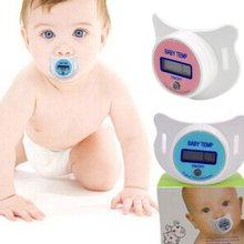 Практичный детский младенец lcd цифровой рот соска термометр Температура Цельсия