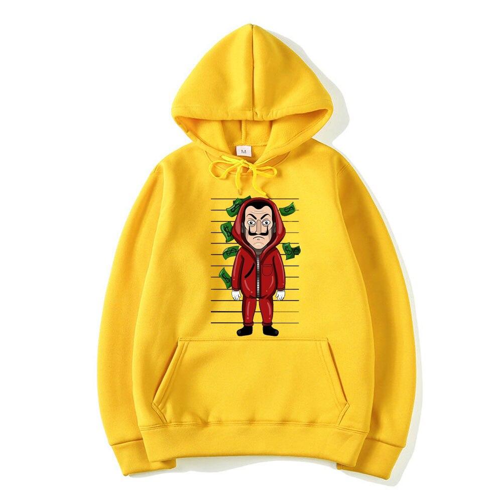 La Casa De Papel 3D Printed Hoodies Sweatshirts Pullovers Men/Women Funny Casual House of Paper Fleece Hoody Hip Hop Sweatshirts