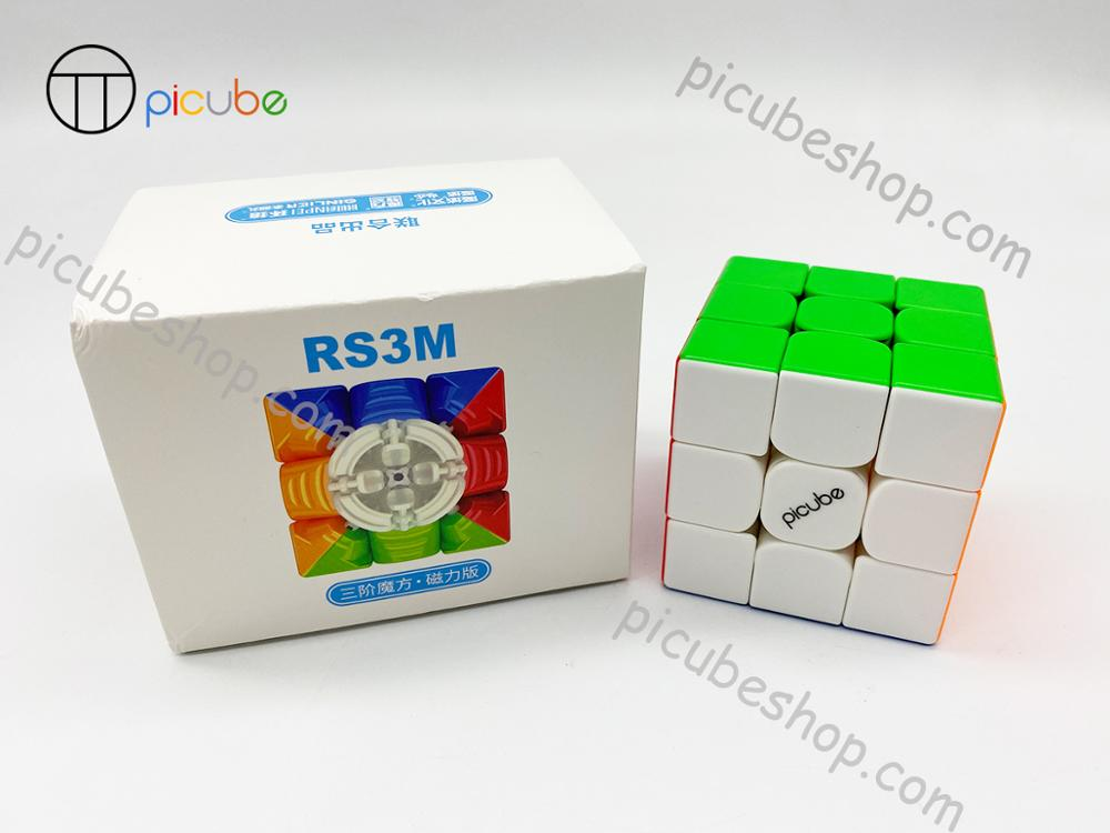 [Picube]2020 Moyu MFRS3 M Magnetic 3x3x3 speed magic cube 3x3 puzzle cube MF RS3M Magnet 3x3x3 cubo magico RS3 M 6