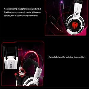Image 3 - SOMiC G941 auriculares, USB de Gaming Virtual 7,1 Surround SVE, con motor de vibración inteligente y micrófono para ordenador