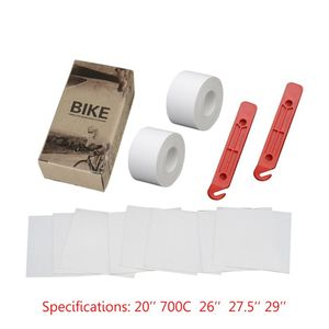 1 set Bicycle Tire Liner Puncture Proof Belt Bike Inner Tube Protection Pad for 20