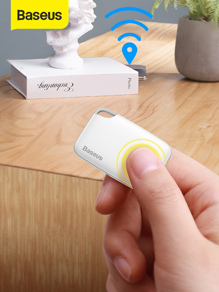 Wallet Finder Tracker Bag Alarm-Tag Gps-Record Anti-Lost Child Baseus Wireless APP