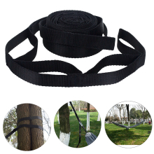 2Pcs 200cm Hammock Strap Outdoor Tree Hanging Accessories Hiking Tied Rope Garden Adjustable Park Yoga Camping Aerial Portable