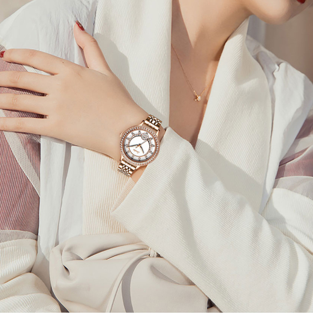 Women Watches Women Fashion Watch 2020 Ladies Watch Luxury Brand Diamond Quartz Gold Wrist Watches Gifts For Women Female Clocks