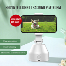 Auto Smart Shooting Selfie Stick 360 ° obrotowy uchwyt do śledzenia All-in-one Rotation Face Tracking uchwyt na aparat telefon tanie tanio centechia Smartfony Other 360° object tracking holder Bluetooth