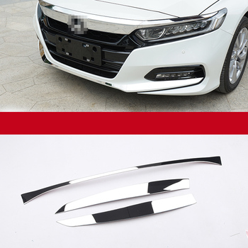 Lsrtw2017 Car Front Rear Bumper Trims Decoration for Honda Accord 2018 2019 2020 10th Interior Mouldings Accessories