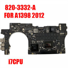"A1398 Logic Board Voor Macbook Retina 15 ""Moederbord 2.2 Ghz/2.4Ghz/2.6Ghz/2.6Ghz/8G 16Gb Ram 1G Gpu 2012 820-3332-A(China)"