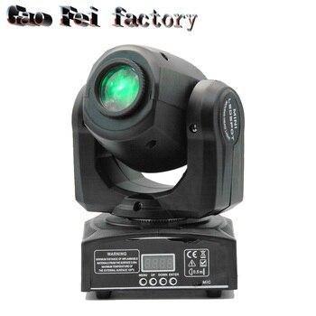 10W LED Spot Moving Head Light dj controller quad 7colors and 8 gobos super bright LED DJ disco light