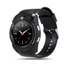 цена на Waterproof Smart Watch Men with Camera Bluetooth Smartwatch Pedometer Heart Rate Monitor Sim Card Wristwatch