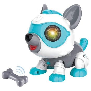 DIY Robot Dog Cute Sing and Dance Parent-child Interactive Toys Voice-activated Touch Smart Sensor Electronic Pets for Kids Gift