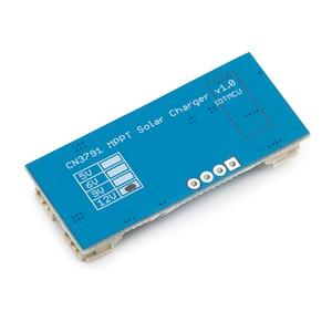 Image 5 - 1 ogniwo bateria litowa 3.7V 4.2V CN3791 Panel słoneczny z regulatorem ładowania MPPT kontroler ładowarka panelowa kontroler płyty słonecznej moduł