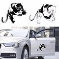 Tiger Auto Aufkleber 3D Feurigen Wilden Panther Jagd Lustige Aufkleber Auf Auto Aufkleber Und Abziehbilder Fenster Vinyl Auto Styling