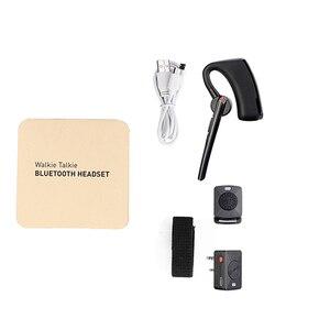 Image 5 - Baofeng walkie talkie PTT inalámbrico con Bluetooth, auriculares tipo K de Radio bidireccional, micrófono