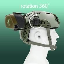 Novo arco OPS-CORE capacete faixa adaptador fone de ouvido titular adequado para tático earmuffs eletrônico tiro fone de ouvido