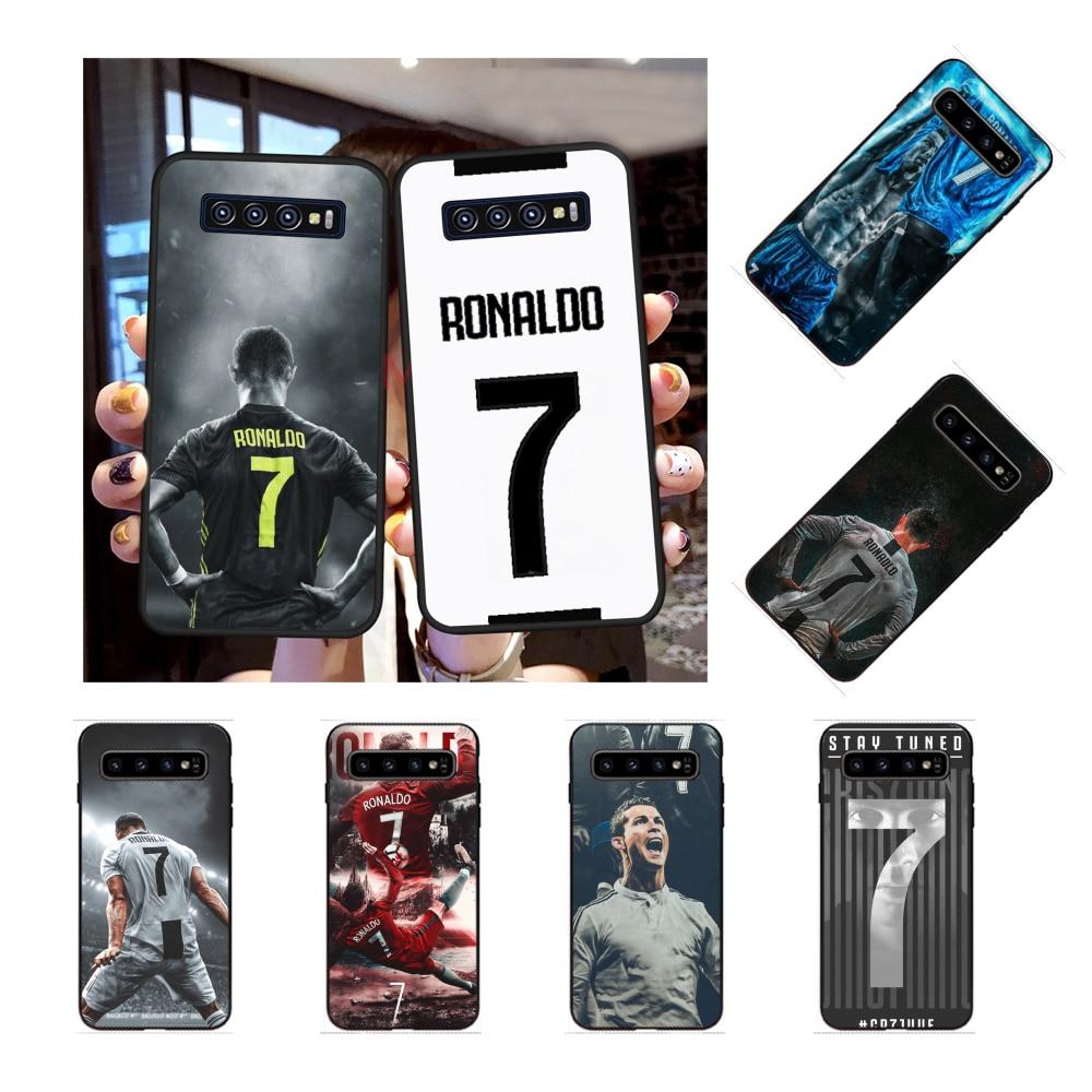 NBDRUICAI CR7 Cristiano Ronaldo niestandardowe zdjęcie miękki futerał na telefon do Samsung S9 plus S5 S6 krawędzi plus S7 krawędzi S8 plus S10 E S10 plus