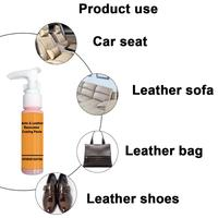 30ml Auto Leather Renovated Coating Paste Maintenance Agent  Accessories Car Wash Antifogging Agent Upholstery Cleaner 5