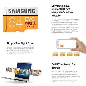 Image 3 - SAMSUNG Micro SD 32G 64G 128G 256 Thẻ MicroSD SDHC SDXC Max 95MS EVO 32GB 64GB C10 TF Trans Flash Thẻ Micro
