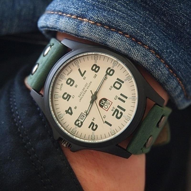 Ladies Watch Bracelet Watches Calendar Girls Black Quartz Wrist Watch Leather Big Dial Buckle Women Wristwatch