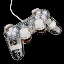 USB Joypad Double Shock Game Controller Joystick untuk PC Komputer Laptop Windows Putih(China)