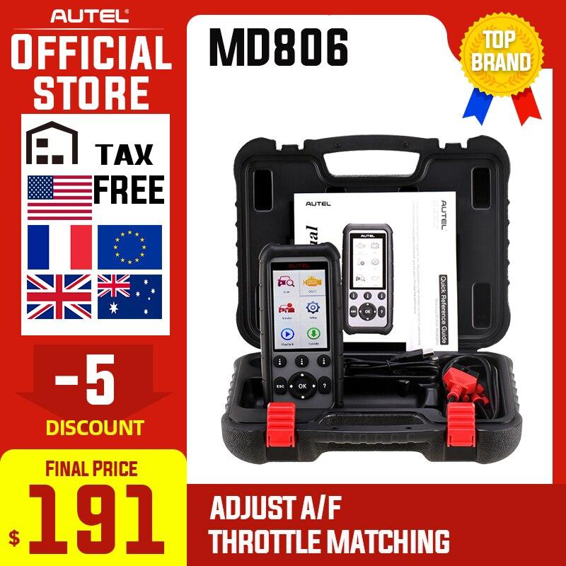 Autel MaxiDiag MD806 & MD806 Pro OBD2 Auto Automotive Diagnostic Tool OBD 2 Auto Scanner Full System Diagnosen PK MD802 MD805
