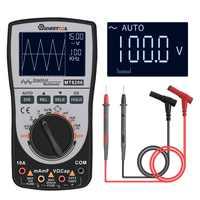 Mutabouret amélioré MT8206 2 en 1 Intelligent numérique Oscilloscope multimètre courant tension testeur de fréquence analogique graphique à barres